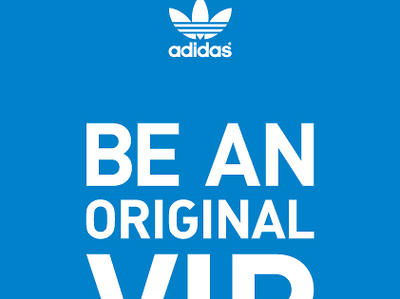adidas BE AN ORIGINAL VIP
